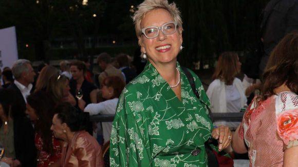 Japanisch angehaucht war der Look von Regisseurin Doris Dörrie.