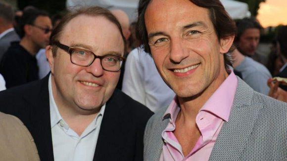 Ebenfalls dabei waren die beiden immer gern gesehenen Schauspieler Gustav Peter Woehler (l.) und Hans Werner Meyer ...