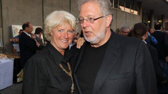 Kulturstaatsministerin Monika Grütters vertrat die Politik. Neben ihr: Produzent und Constantin-Vorstandsvorsitzender Martin Moszkowicz.