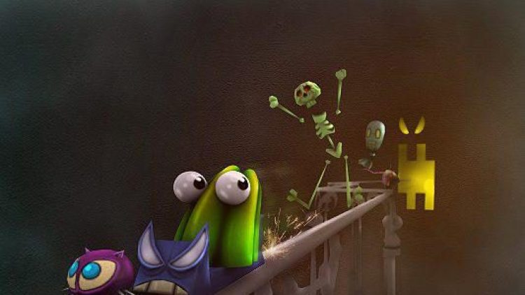 Bei diesem Spiel soll den Monstern Angst eingejagt werden, bevor Sie dem Pudding den Mut nehmen.