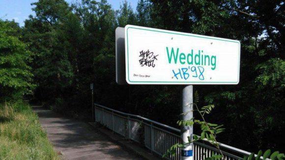 Über Wedding nach Kopenhagen: Erstaunlich ist, wieviel Grün man bereits im Berliner Stadtteil zu sehen bekommt.