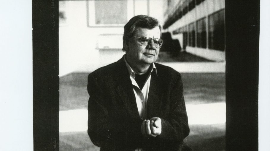 Der Tempelhofer Lyriker Rainer Malkowski.