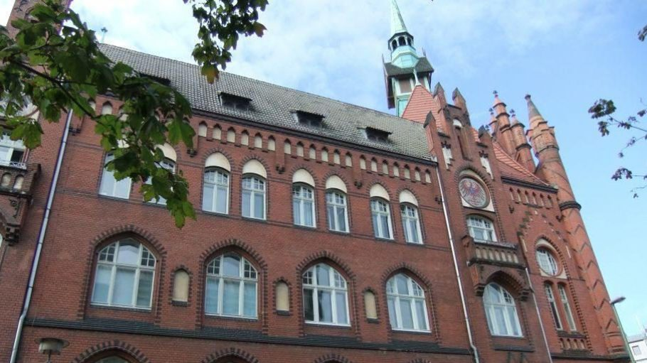 Das Rathaus in der Möllendorffstraße unweit des Stadtgartens steht unter Denkmalschutz.