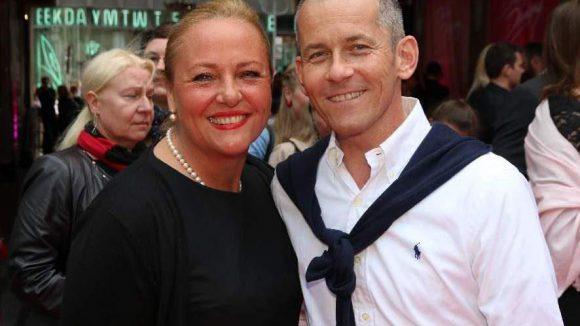 rbb-Moderator Harald Pignatelli und Sabrina Preuss.