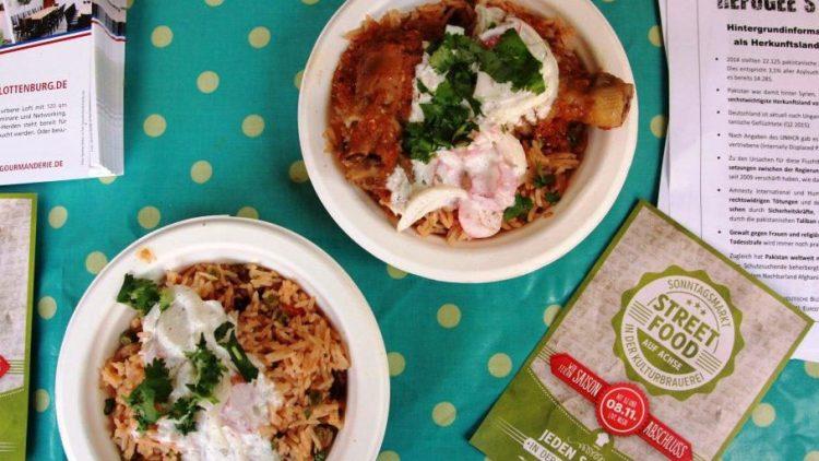 Essen verbindet. Das findet man auch bei Refugee Street Food.