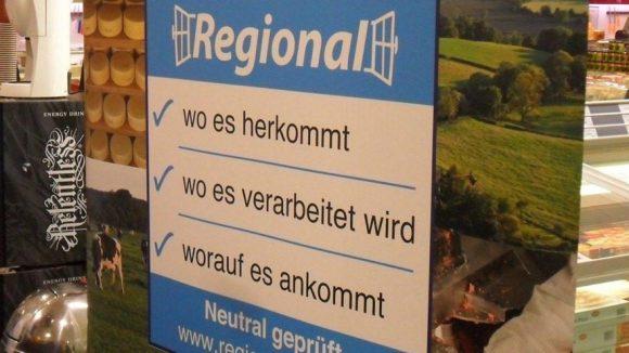 Das neue Regionalfenster kennzeichnet Produkte aus Berlin und Brandenburg.