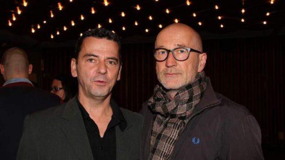 """Regisseur des Films Christian Petzold (l.) und Schauspieler Peter Lohmeyer (""""Fünf Freunde 2"""")."""
