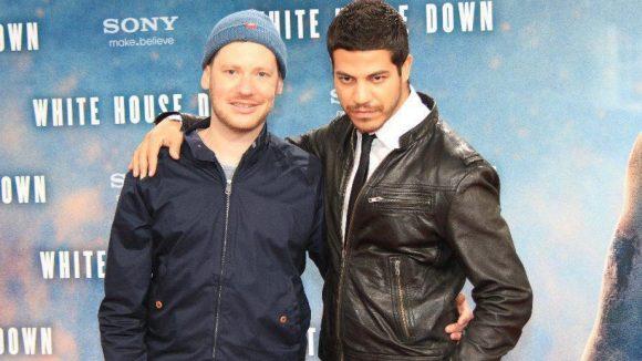 Regisseur Marco Kreuzpaintner (l.) mit seinem Mann Gilardi.