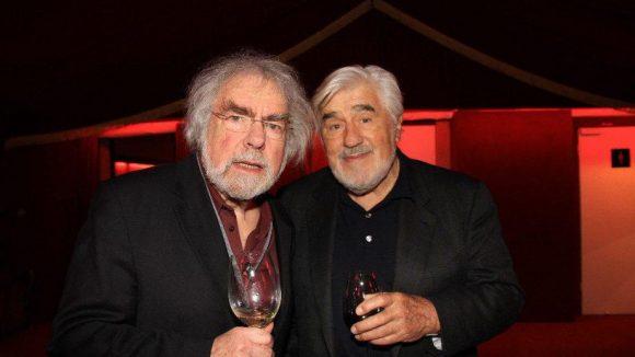Auch Regisseur Peter Fleischmann und Schauspieler Mario Adorf schauten in Wilmersdorf vorbei.