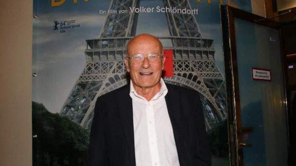 """Der Meister selbst: Oscar-Preisträger Volker Schlöndorff (den Oscar gab's für """"Die Blechtrommel"""" 1980)."""