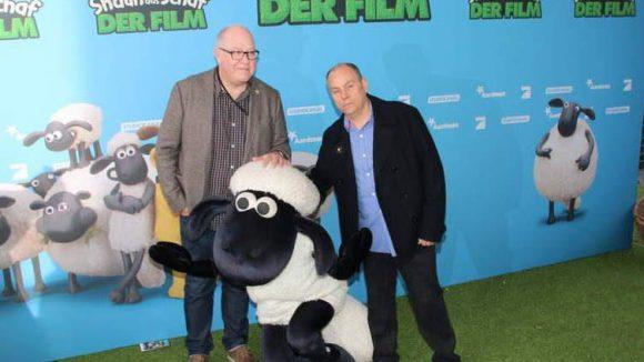 Die Regisseure des Streifens: Richard Starzak (l.) und Mark Burton.