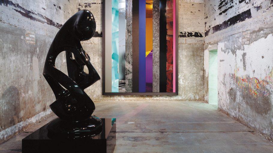 Der ehemalige Reichsbahnbunker ist heute Privateigentum und beherbergt die zeitgenössische Kunstsammlung Boros.