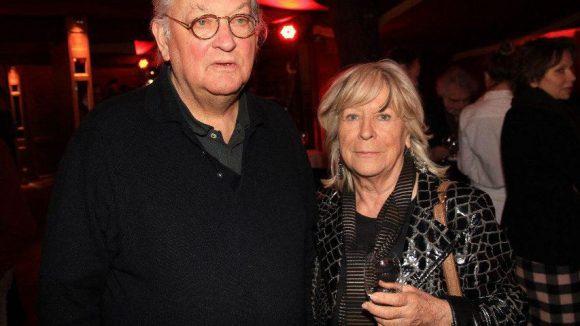 Regisseur Reinhard Hauff mit Kollegin Margarethe von Trotta.