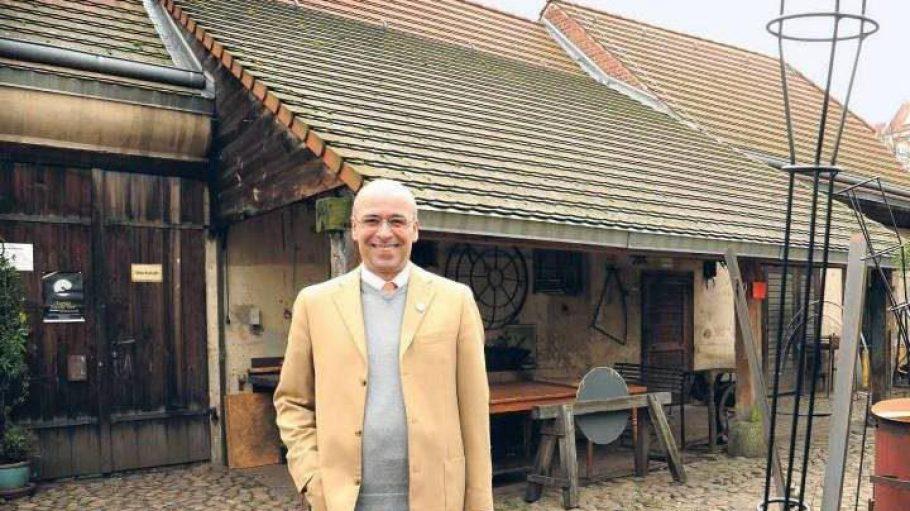 Reinhold Steinle ist ein Botschafter Neuköllns und veranstaltet Führungen durch den Stadtteil
