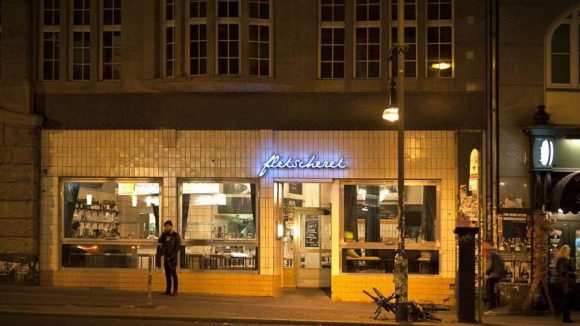 Das Restaurant fleischerei zählt zu den Hot-Spots der Berliner Szene.