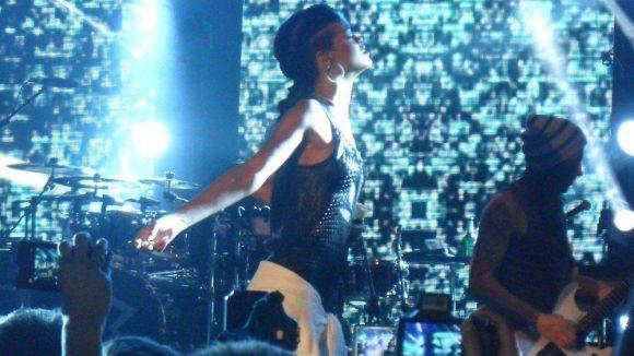 Rihanna gibt beim Konzert im Berliner ewerk alles!