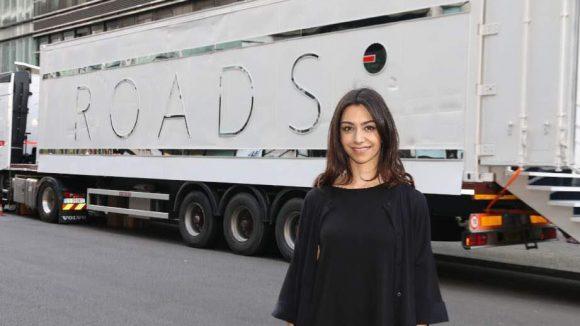Schließlich präsentierte gestern die Unternehmerin - und Ryanair-Erbin - Danielle Ryan ihre neue Parfumlinie Roads vor den Galeries Lafayette.