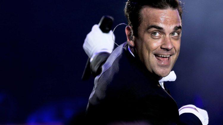 Und da s(w)ingt er wieder: Robbie Williams spielt heut abend in der O2 World.