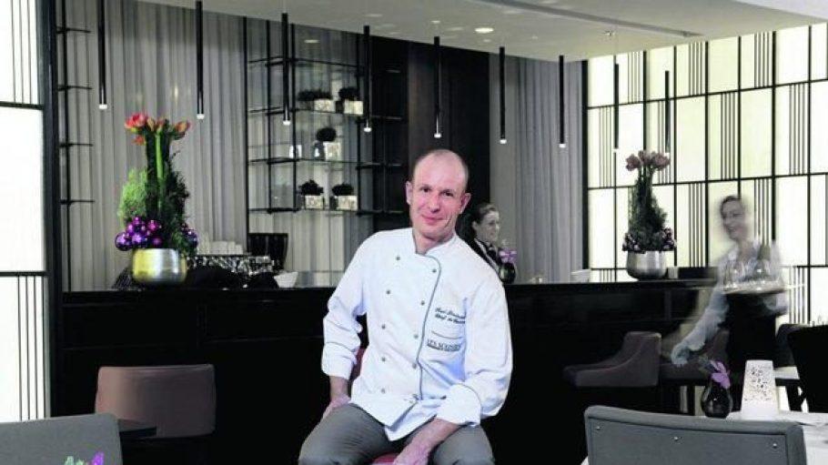 """Seit Januar 2013 ist Roel Lintermans Chefkoch im Restaurant """"Les Solistes by Pierre Gagnaire"""" im Waldorf Astoria an der Hardenbergstraße."""