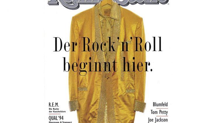 So sah sie aus, die erste deutsche Ausgabe des Rolling Stone im November 1994.