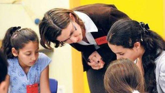 Schon im Sommer 2011 gab es an der Neuköllner Hans-Fallada-Grundschule speziellen dreiwöchigen Förderunterricht für Roma-Kinder.