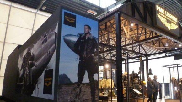 Klassisch roughe Männerwelten dominierten nicht nur bei Pme Legend (niederländische Casual und Jeans Wear) ...