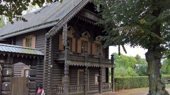 In der Russischen Kolonie 2 ist das Museum Alexandrowka untergebracht - auch der Garten kann besichtigt werden.