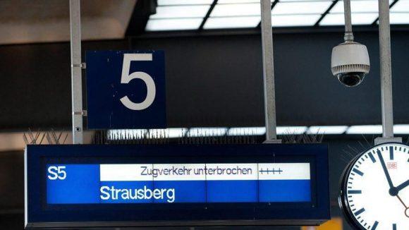 Auch heute sollten sich Fahrgäste der S-Bahn auf Behinderungen einstellen.