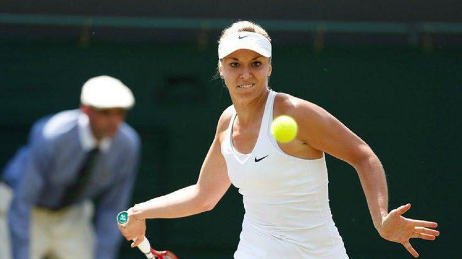 Die Berlinerin Sabine Lisicki steht im Viertelfinale von Wimbledon.