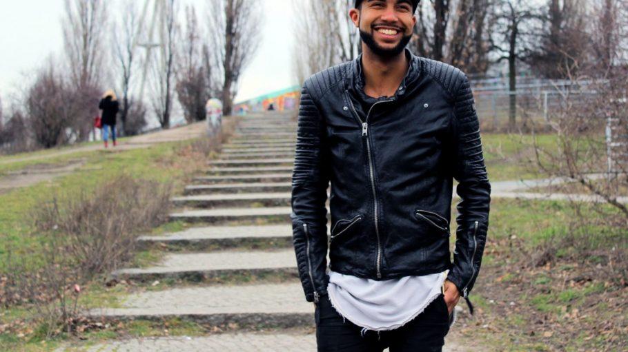 Im Mauerpark hat Samuel G. Mpungu in seinem ersten Jahr als Berliner viel Zeit verbracht.