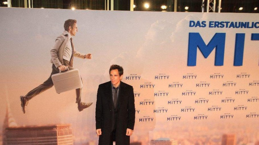 Nicht ganz so dynamisch wie in der Werbung: Hauptdarsteller Ben Stiller, der im Film übrigens auch Regie führte und als Produzent fungierte.