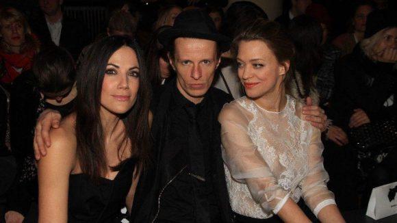 Zur Show im Goya am Nollendorfplatz kamen beispielsweise Bettina Zimmerman (links), Alexander Scheer und Heike Makatsch.