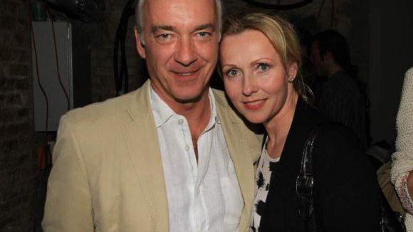 """Schauspieler Christoph M. Ohrt (""""Edel und Starck"""") und Kollegin Dana Golombek (""""In aller Freundschaft"""", """"Inga Lindström"""")."""