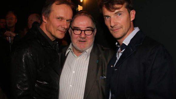 Als Nebendarsteller zu sehen: Edgar Selge, Udo Samel und Jeff Burrell (v.l.n.r.).