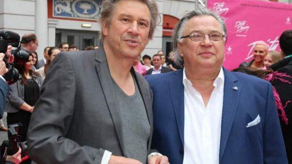 """Die Schauspieler Michael Kind (""""Polizeiruf 110"""", l.) und Bernd Stegemann (""""Alles auf Zucker"""")."""
