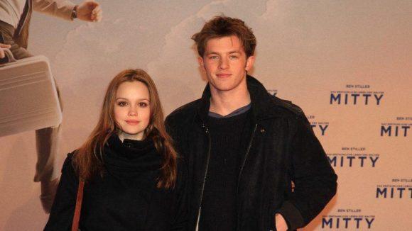 Vielversprechender Schauspielnachwuchs: Emilia Schüle mit ihrem Freund Jannis Niewöhner.