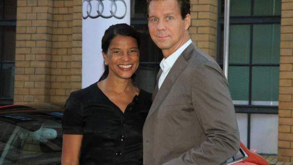 Thomas Heinze mit seiner Freundin, der Radio-Moderatorin Jackie Brown.