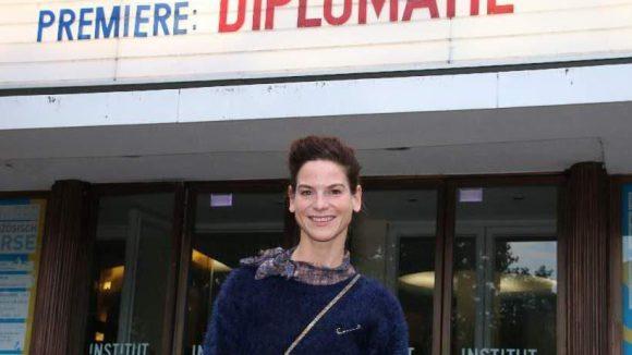 """Schauspielerin Bibiana Beglau (""""Der Kriminalist"""") kam auch."""