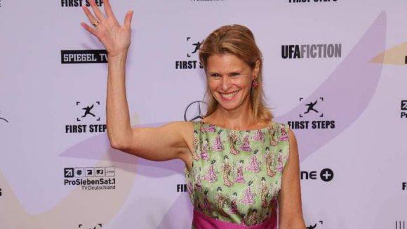 """Geboren in Washington D.C., lebt aber in Berlin: die Schauspielerin Leslie Malton (""""Wilsberg: Mundtot"""")."""
