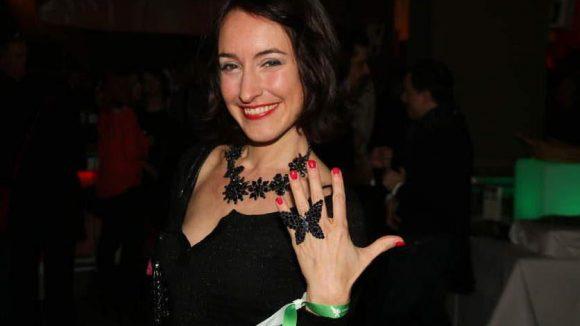 Früher auch mal GZSZ-Star: Maike von Bremen zeigte ihren Handschmuck.