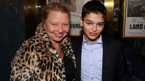 """Gehören zum Cast: Margarethe Tiesel (""""Paradies: Liebe"""") und Luis Huilca."""