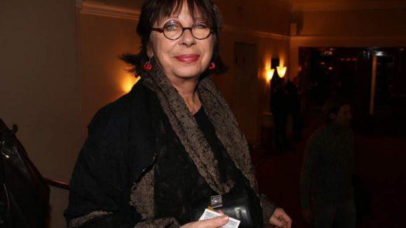 Ebenso wie Schauspielerin und Otto Sander-Witwe Monika Hansen.