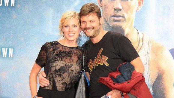 Schauspielerin Nele Kiper mit ihrem Freund, dem Regisseur Peter Thorwarth.