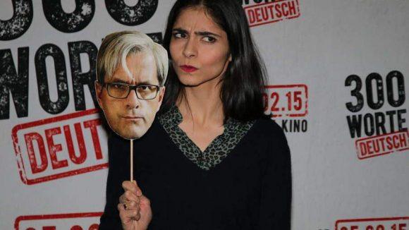 """Pegah Ferydoni (""""Türkisch für Anfänger"""") spielt die Hauptrolle im neuen Film """"300 Worte Deutsch"""" - neben ihr """"Christoph Maria Herbst"""" (""""Stromberg""""), ebenfalls einer der Hauptdarsteller."""