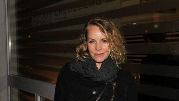 Auch Schauspielerin Simone Hanselmann schaute mal vorbei.