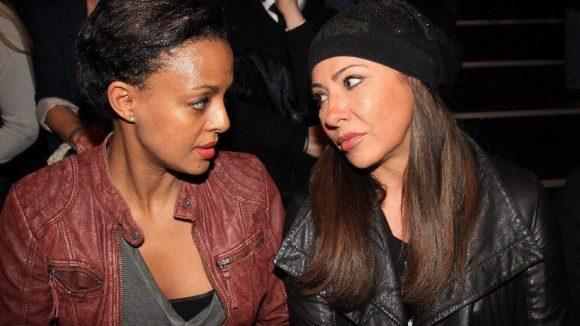 Sehen ja nicht gerade gut gelaunt aus: die Schauspielerinnen Dennenesch Zoudé (links) und Simone Thomalla.