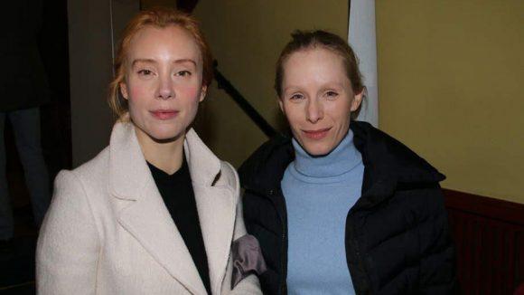 """Sowie die Schauspielerinnen Franziska Petri (l., """"SOKO Stuttgart"""") und Susanne Wuest (""""Der Kriminalist"""")."""
