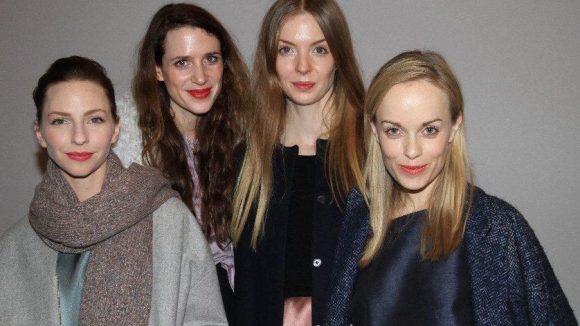 Die Promi-Ladys auf einen Blick: Katharina Schüttler, Julia Malik, Pheline Roggan und Friederike Kempter (v.l.n.r.).