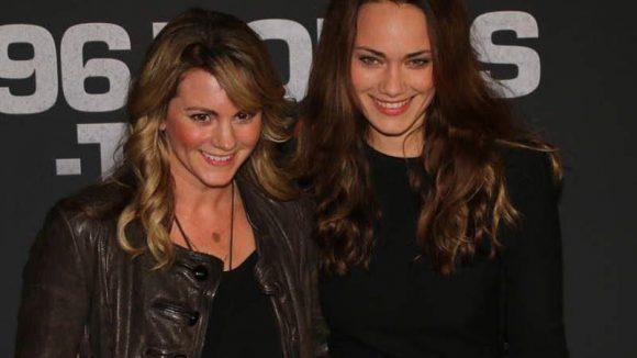 """Schauspielerinnen Luise Bähr (l., """"Die Bergretter"""") und Sarah Maria Besgen (""""Divorced"""")."""