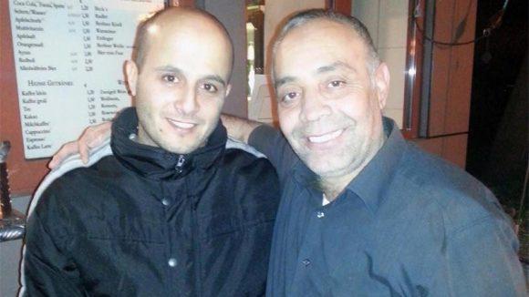 Die Betreiber: Masoud Nayeb (r.) und Sohn Mahiar.